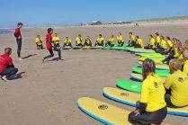 groep workshop surfen