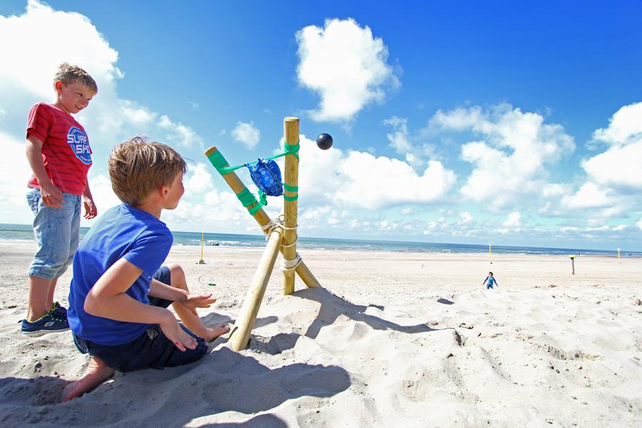 catapult bouwen bij Dreams Surfschool