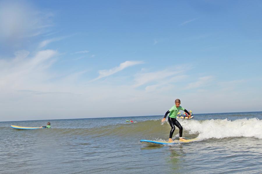 Kijk me gaan! Surfles voor kinderen