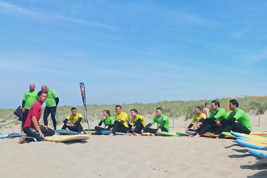 Wekelijkse surflessen
