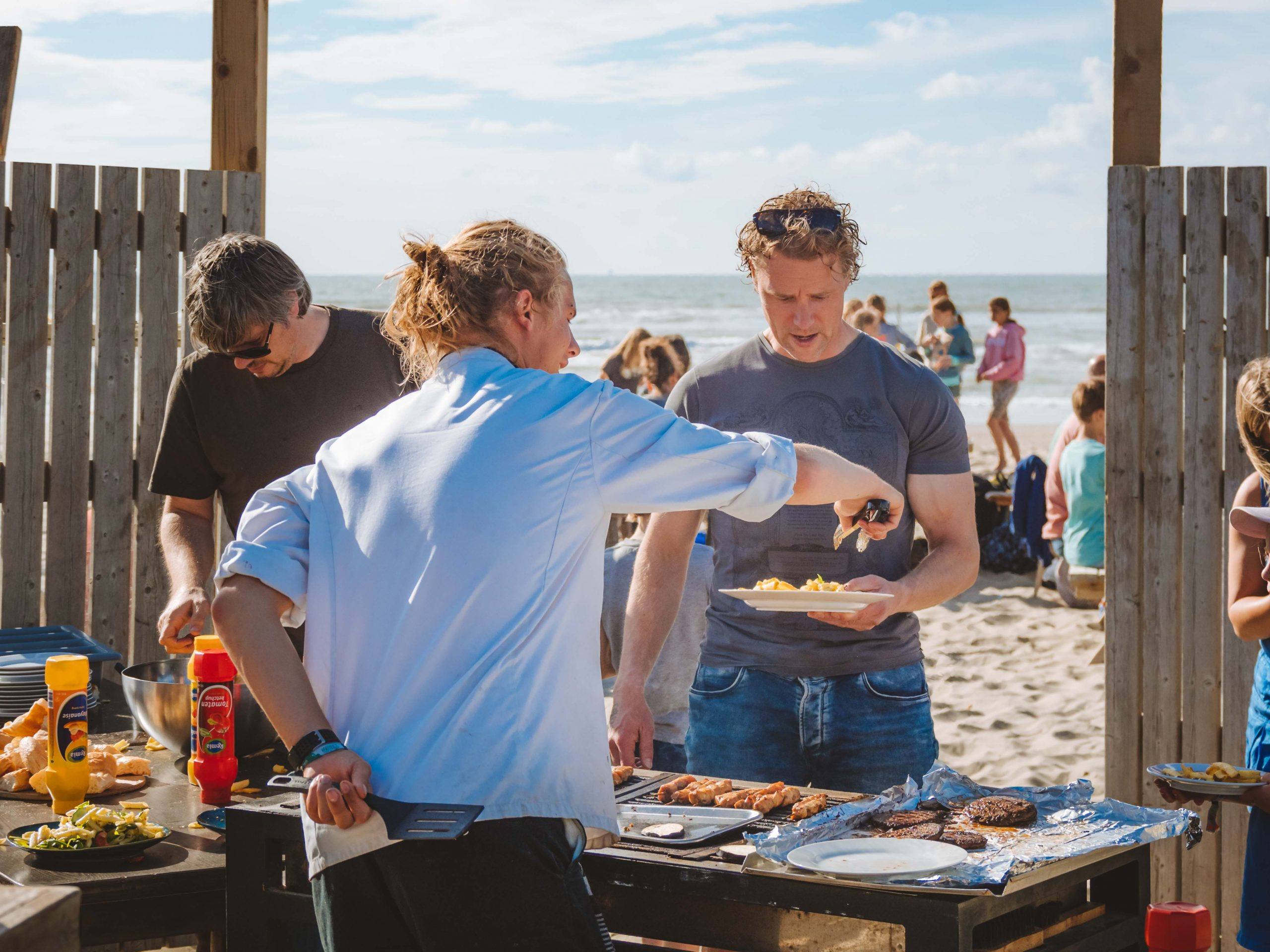 Surfcamp BBQ