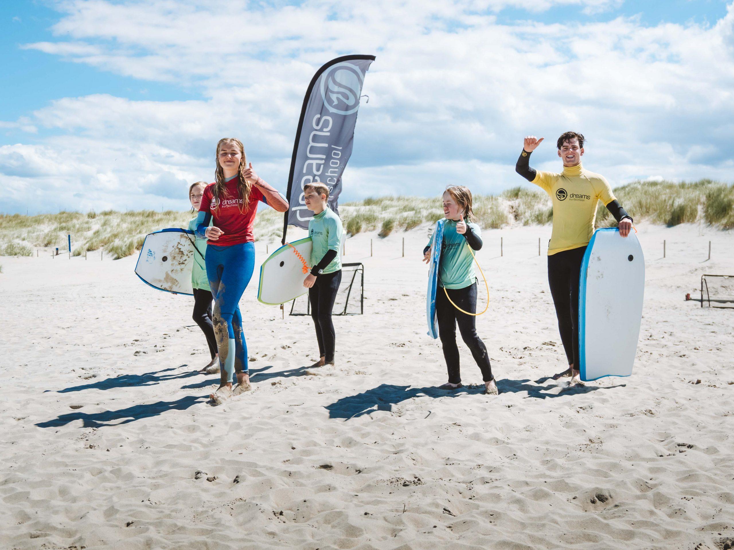 Surfles voor Groepen